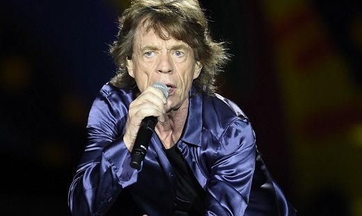 MONTEVIDEO, Feb. 17, 2016 (Xinhua) -- Vocalist of British band The Rolling Stones Mick Jagger performs during a concert in Montevideo, capital of Uruguay, on Feb. 16, 2016. According to local press, The Rolling Stones played for the first time in Uruguay as part of the ''America Latina Ole Tour 2016''. (Xinhua/Nicolas Celaya) (Credit Image: © Nicolas Celaya/Xinhua via ZUMA Wire)
