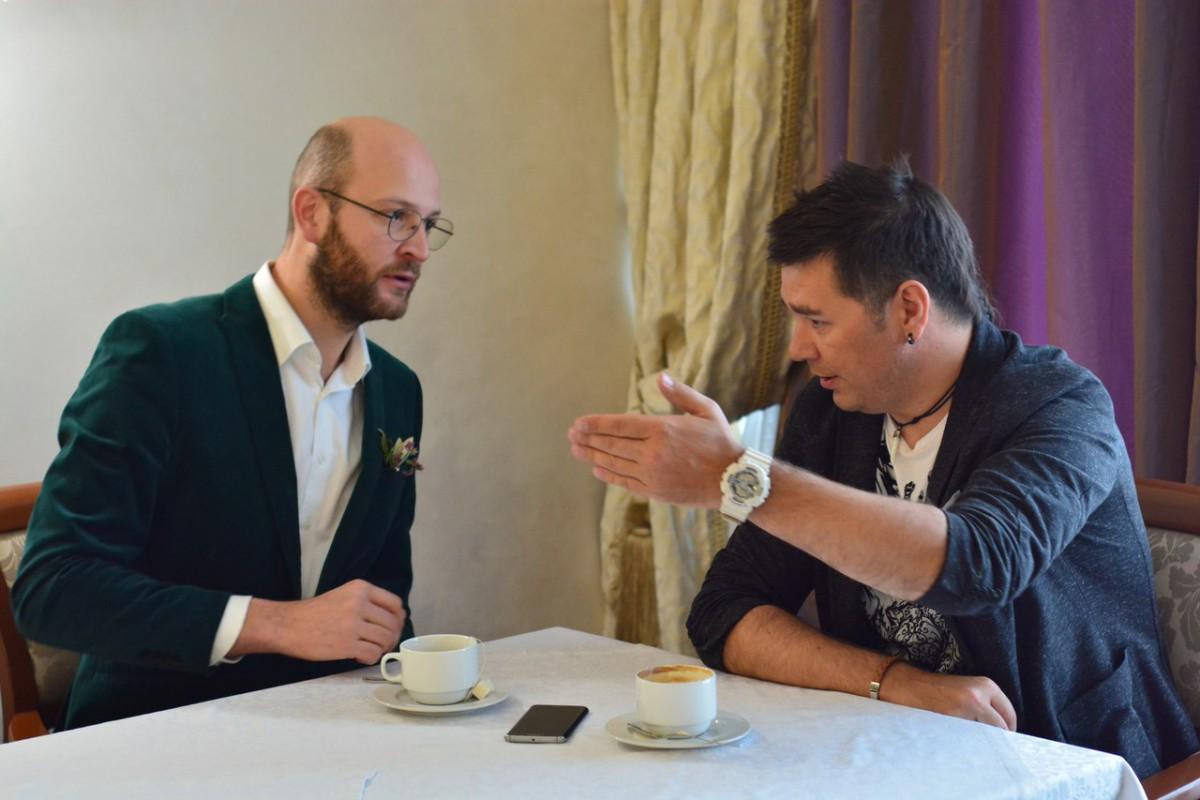 Интервью с артистом эстрады и кино Дмитрием Кузеняткиным